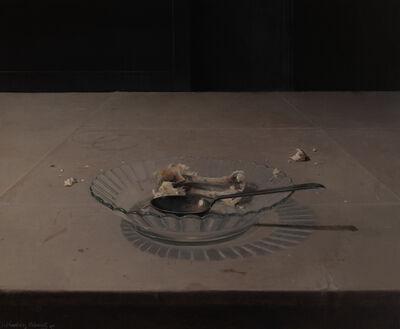 Joseba Sánchez Zabaleta, 'Plato con huesos', 2019