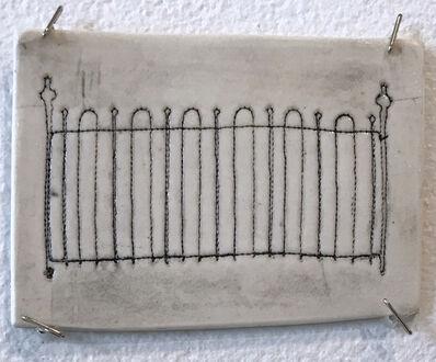 Jennifer Johnson, 'Powelton Village Iron Fence Tile 3'