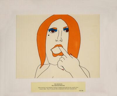 John Lennon, 'The Beatles, She Said So/I Feel Fine, Cel 138', 1966