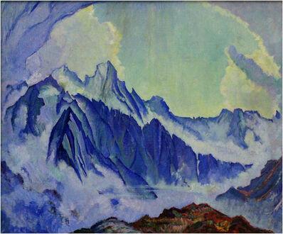 Clara Porges, 'Gruppe Sciora (in blau nach einem Gewitter)', no year