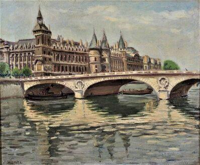 Eugène-Albert Horel, 'Quai Des Orfevres, Paris', ca. 1920