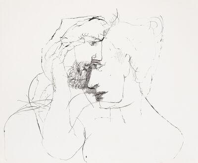 Lajos Szalay, 'Moderate caress', ca. 1970