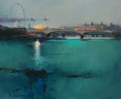 Peter Wileman, 'Emerald Sunset on the Thames', 2018