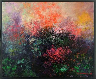 Monique DARDEAU, 'Au fond du jardin', 2018
