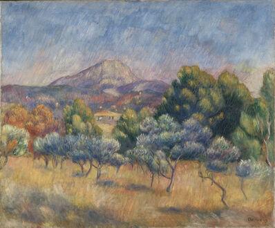 Pierre-Auguste Renoir, 'Mont Sainte-Victoire', ca. 1888-89