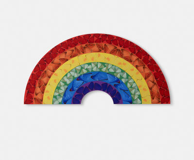 Damien Hirst, 'H7-2 Butterfly Rainbow (Small)', 2020
