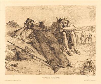 Eugène Delacroix, 'Arabes d'Oran', 1833