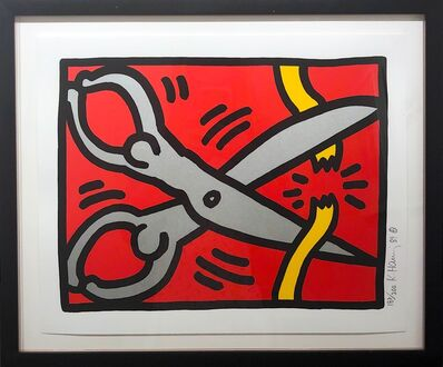 Keith Haring, 'Pop Shop III B', 1988