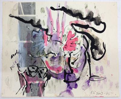 Carolee Schneemann, 'Terminal Velocity, Pale Sky (D)', 2003-2005