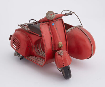Unknown, 'Toy Vespa Scooter with Sidecar', 20th Century