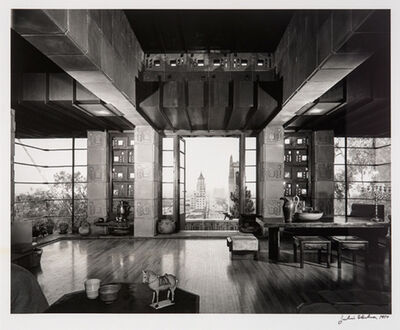 Julius Shulman, 'Freeman House, Frank Lloyd Wright', 1953
