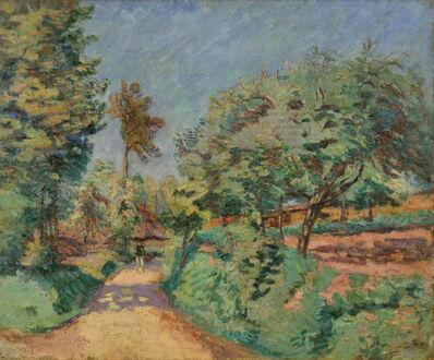 Armand Guillaumin, 'Chemin en Île-de-France', ca. 1889