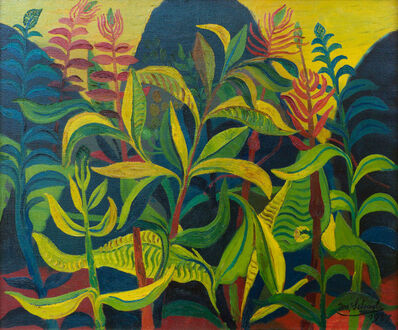 Josef Scharl, 'Wuchernde Pflanzen', 1937