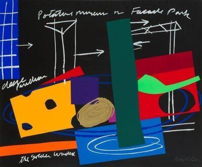 Bruce McLean, 'Facade Park', 1998