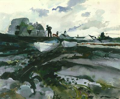 Andrew Wyeth, 'Cooks Wharf', 1940