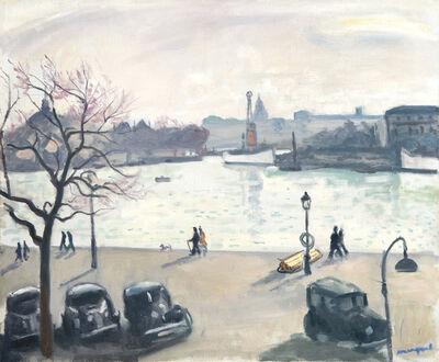 Albert Marquet, 'Quatre autos', 1938