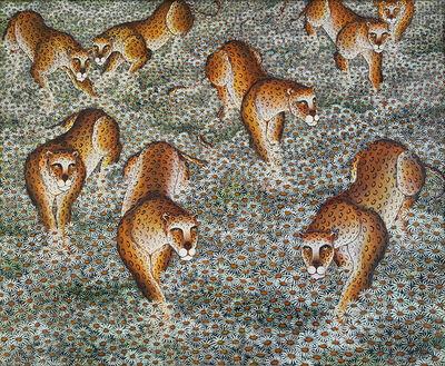 Gustavo Novoa, 'Leopard , Panther, Jaguar , Daisy Trail', 1992