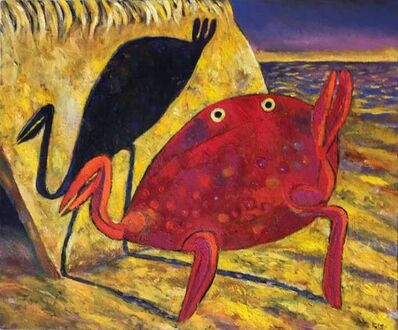 Luis Castellanos Valui, 'Crab and Shadow'