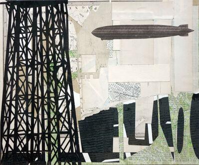 William Steiger, 'Watertower, Dirigible', 2018
