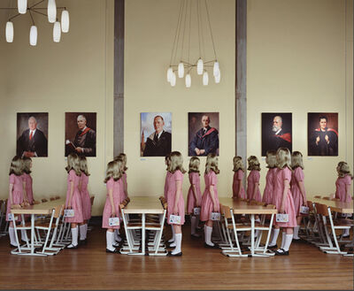 Julia Fullerton-Batten, 'Dining Hall Standing', 2007