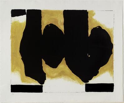 Robert Motherwell, 'Elegy Black Book', 1991