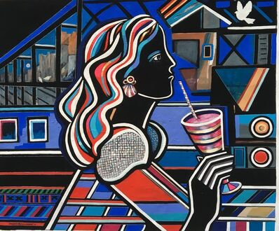 Krysia D Michna Nowak, 'Alice at the Railway Station', 2019
