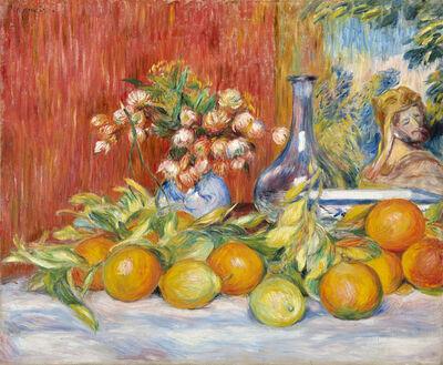 Pierre-Auguste Renoir, 'Fleurs, oranges et citrons ou Nature morte à la tapisserie', 1888