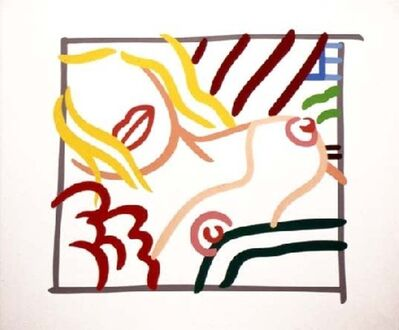Tom Wesselmann, 'New Bedroom Blonde Doodle', 1991
