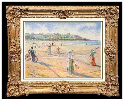 Hugues Claude Pissarro, 'Tennis Sur Gazon Victorien', 20th Century