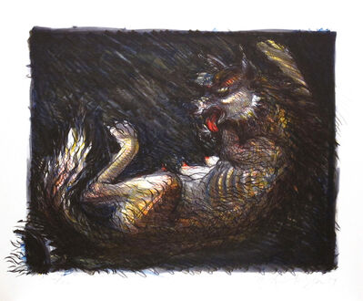 Luis Jimenez, 'Trapped Coyote', 1989
