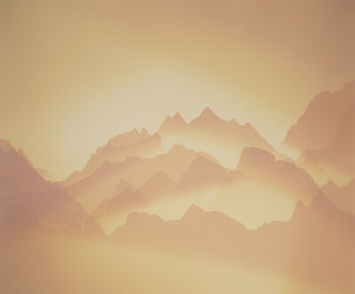 Vanessa Marsh, 'Three Fingers 2, Sunrise, North Cascades, Washington', 2020