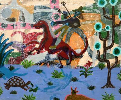 Patrick Cruz, 'pursuit of life and other symbolic preparations, acrylic', 2016