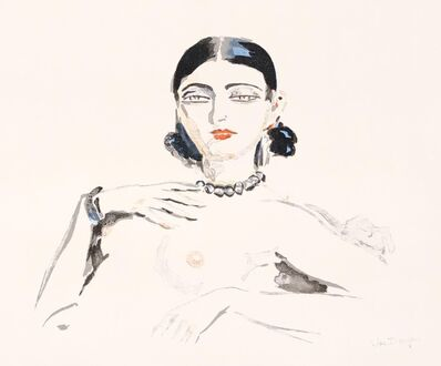 Kees van Dongen, 'Odalisque', 1957