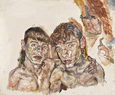 Erwin Pfrang, '2 x W', 2011