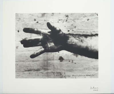 "Richard Serra, 'Still from ""Hand Catching Lead""', 2010"