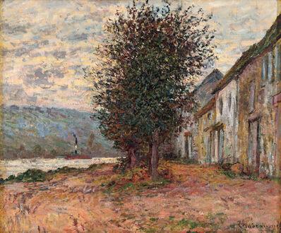 Claude Monet, 'Bord de la Seine à Lavacourt', 1878