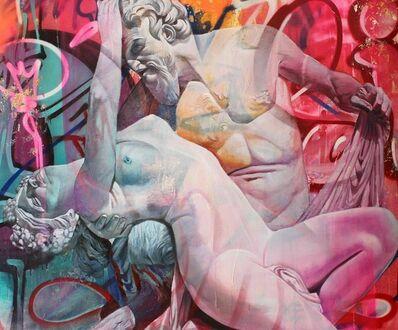 PichiAvo, 'Satyr and Bacchante', 2018