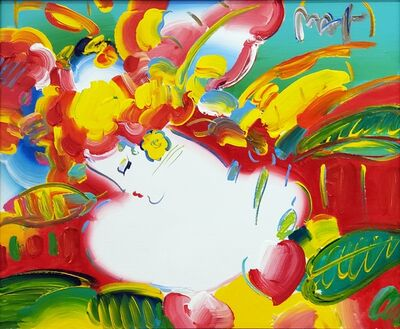 Peter Max, 'Flower Blossom Lady ', 2014
