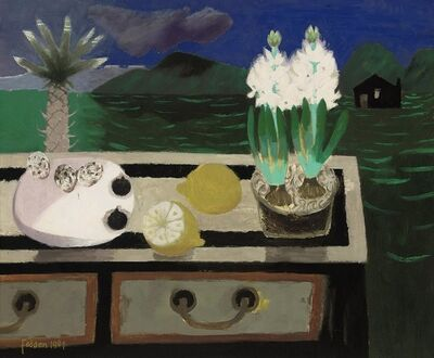 Mary Fedden, 'The White Hyacinth', 1984