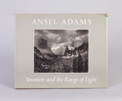 Ansel Adams, 'Yosemite and the Range of Light', 1979