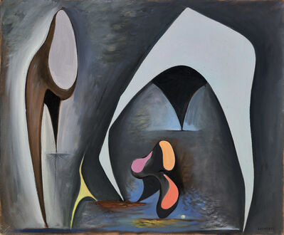 Lorser Feitelson, 'Magical Forms', 1945