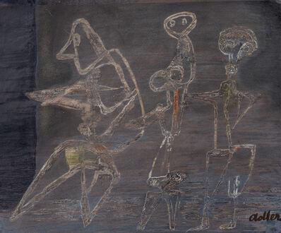Jankel Adler, 'Three Figures in a Landscape ', ca. 1948