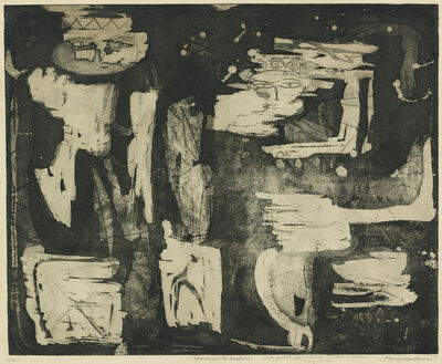 Louise Nevelson, 'The Ancient Garden', circa 1951