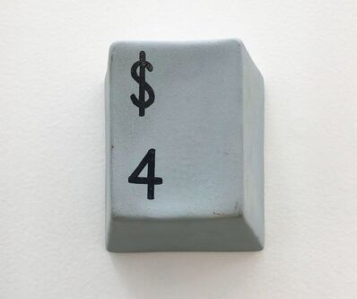 Luis Miguel Suro, '$4, de la Serie Pull the Button', 2000