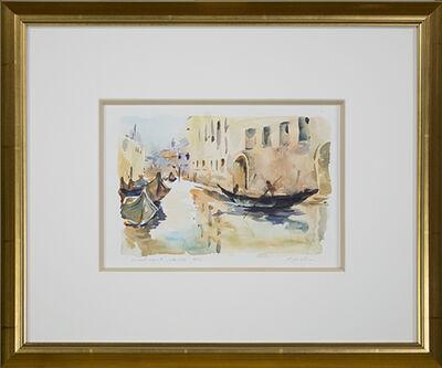Craig Lueck, 'Small Canal, Venice', 2003