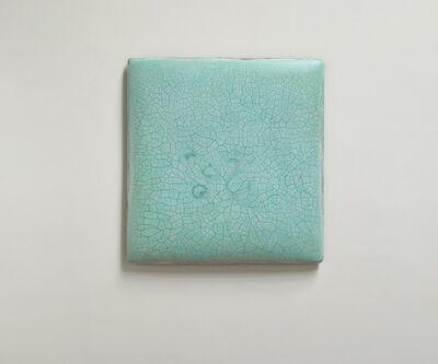 Su Xiaobai, 'Infinity - No. 6 (Turquoise) 冰裂-6', 2019