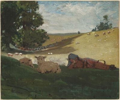 Winslow Homer, 'Warm Afternoon (Shepherdess)', 1878