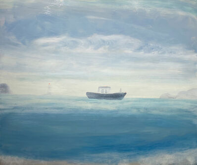 Kathryn Lynch, 'Fisherman by Lighthouse', 2019