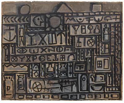 Joaquín Torres-García, 'Monumento constructivo [Constructive Monument]', 1943