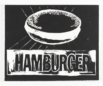Andy Warhol, 'Hamburger ', 1985-1986